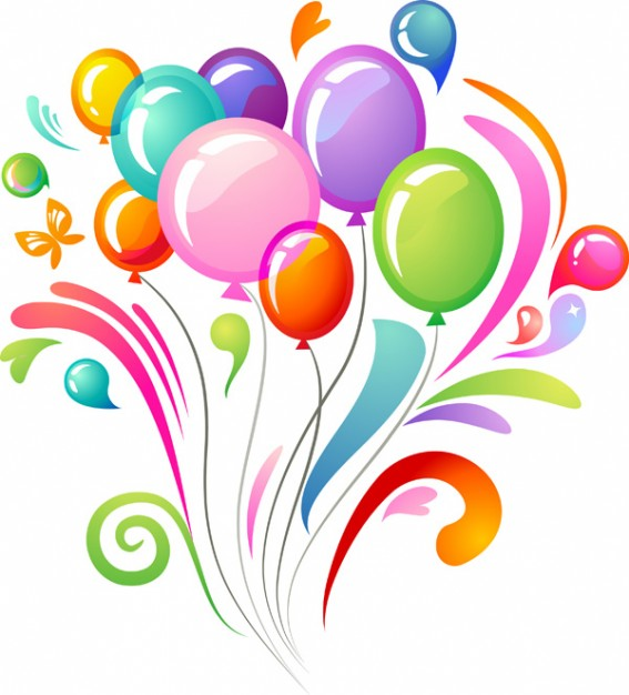 Happy Birthday Balloons Clip Art Free N37 Free Image