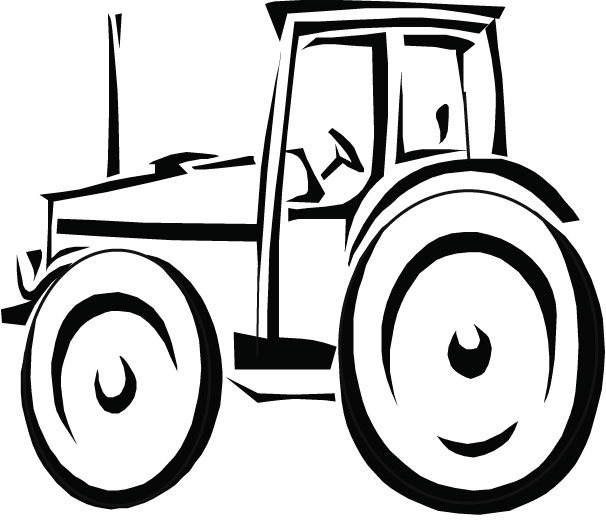 - John Deere Tractor Coloring Pages Free Image