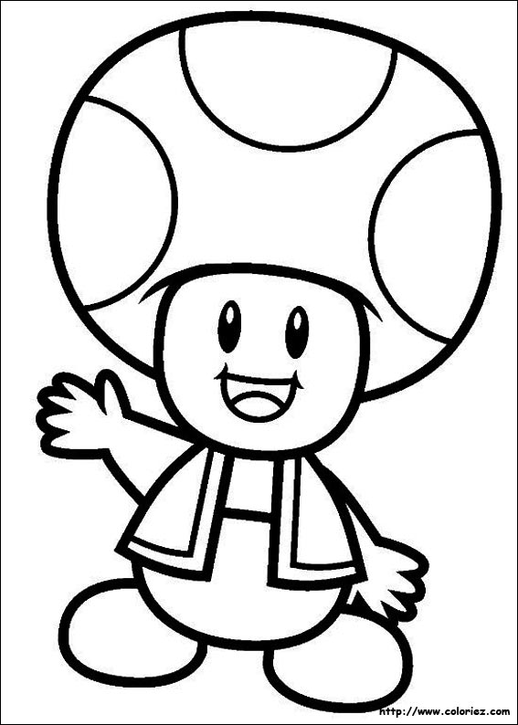 Super Mario Bros Coloring Pages N5 Free Image