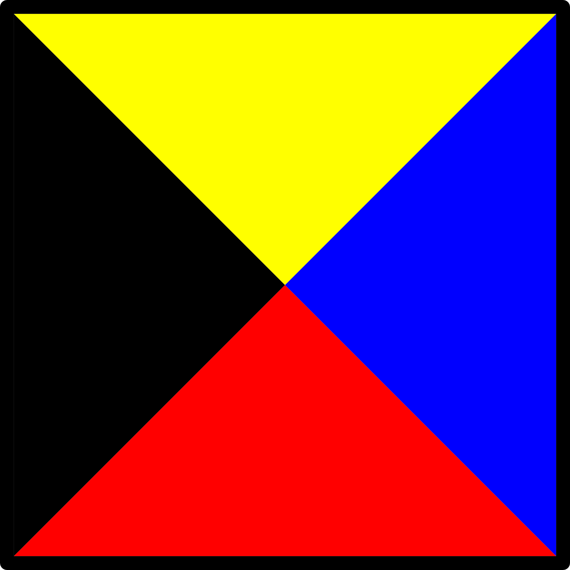 Flag With The Black Yellow Blue And Red Colors Free Image