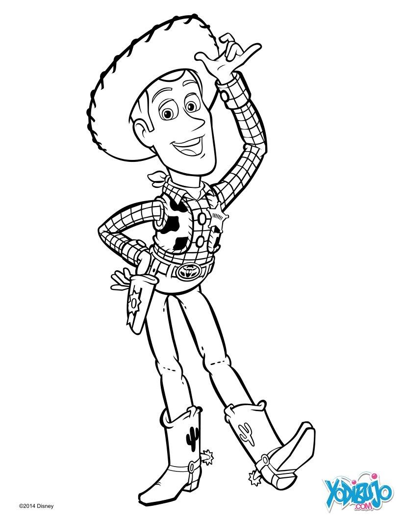 Dibujo Para Colorear Woody De Toy Story free image