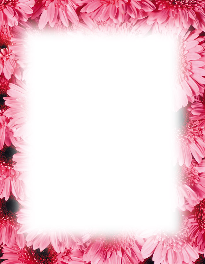 graphic about Free Printable Flower Borders called Totally free Printable Flower Borders Clip Artwork N4 totally free picture