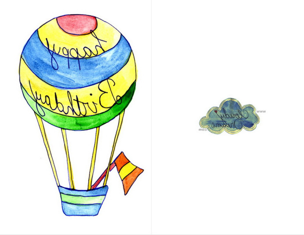 Clipart Of The Christian Birthday Hot Air Balloon Free Image Download