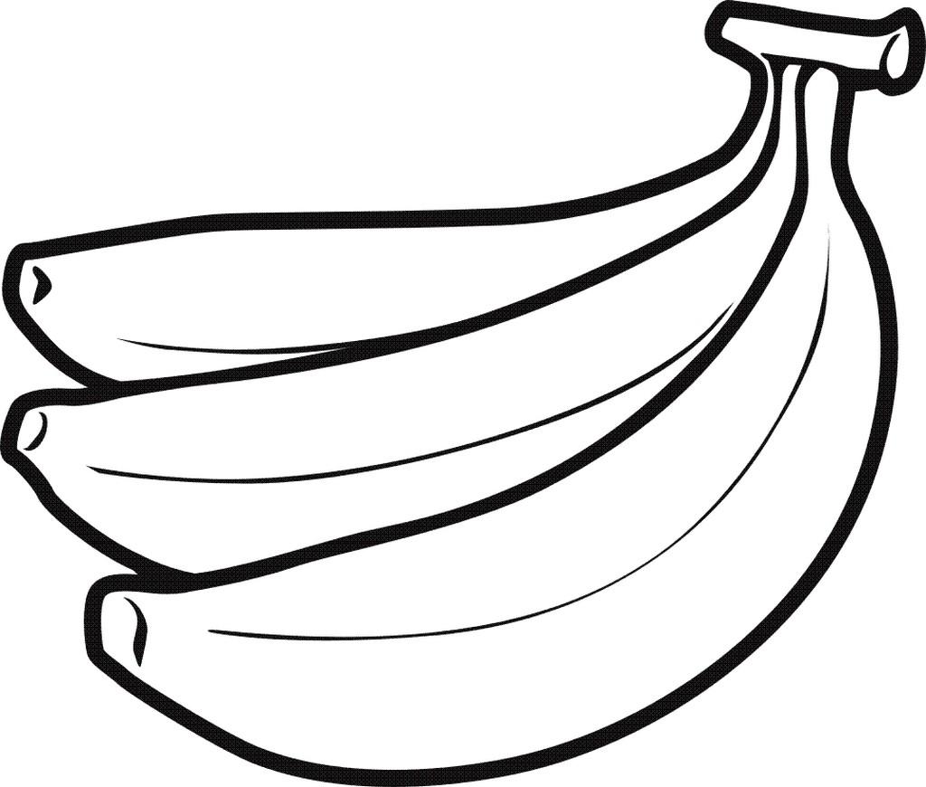 Banane Malvorlagen Bilder Foto 1024 X 870 Free Image