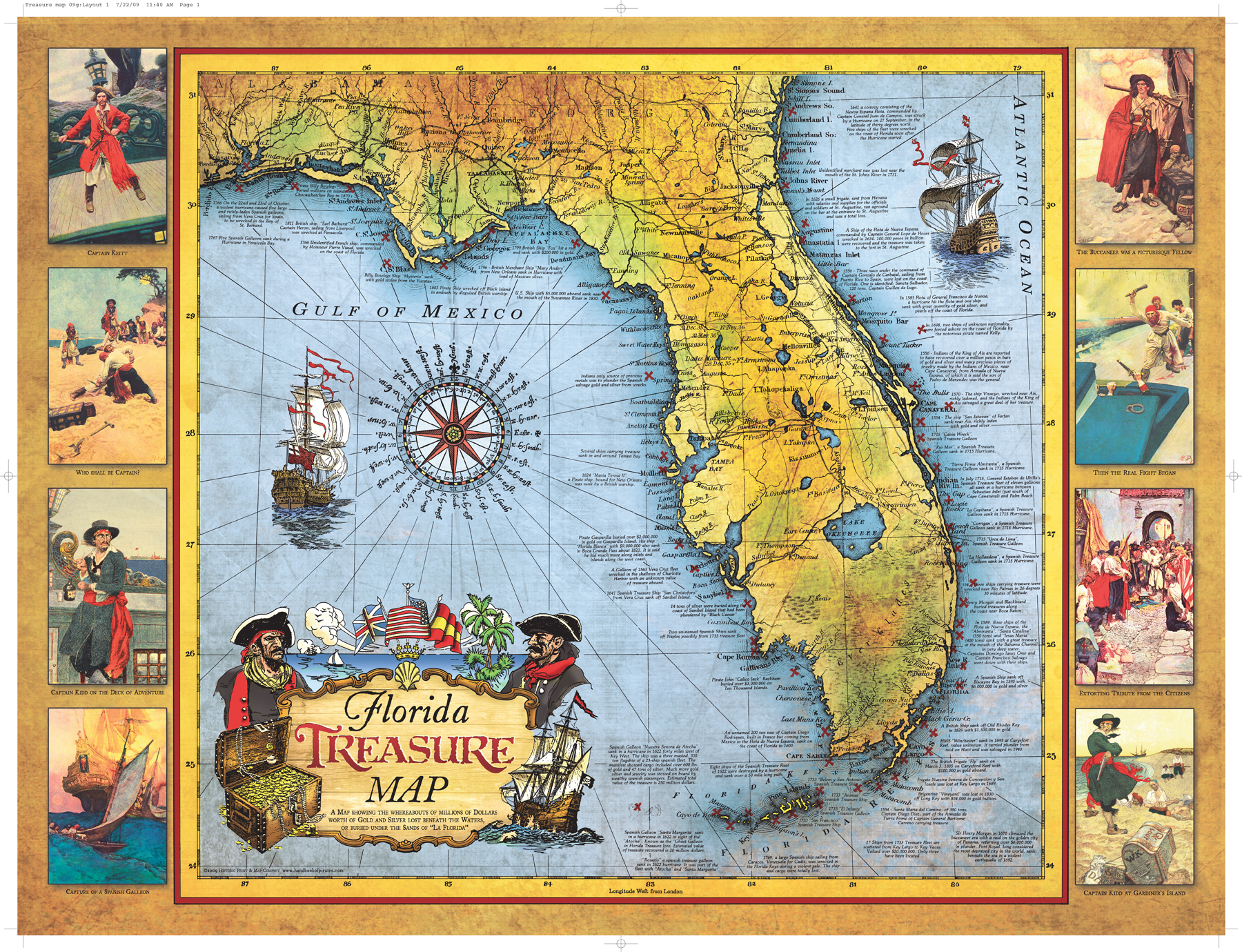 graphic about Printable Pirate Map titled Printable Pirate Treasure Map N2 absolutely free impression