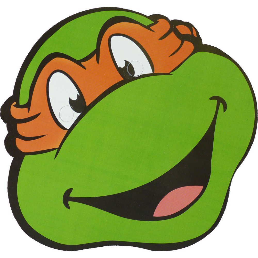 Face Of A Funny Ninja Turtle As A Cartoon Character Free Image
