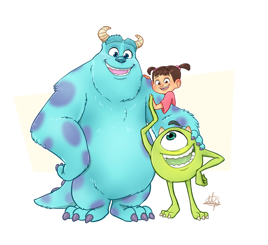 Monsters Inc Characters free image