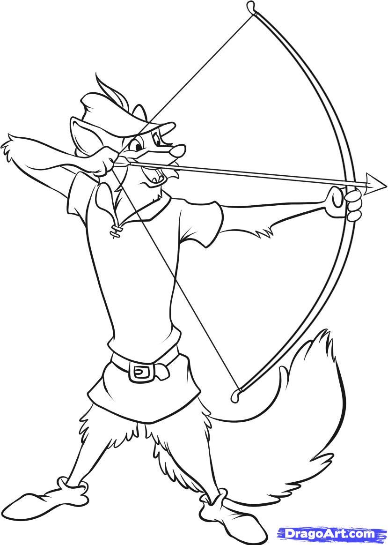 Disney Robin Hood Coloring Pages N2 Free Image