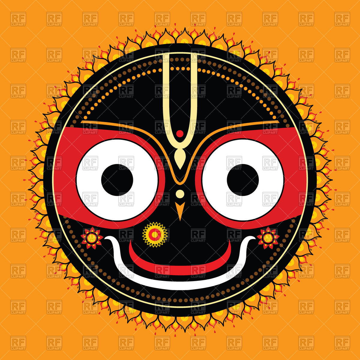 Lord Jagannath Clip Art free image