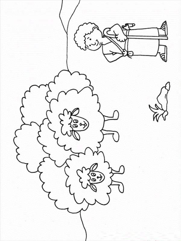 David and Goliath Coloring Pages - Best Coloring Pages For Kids | 799x600