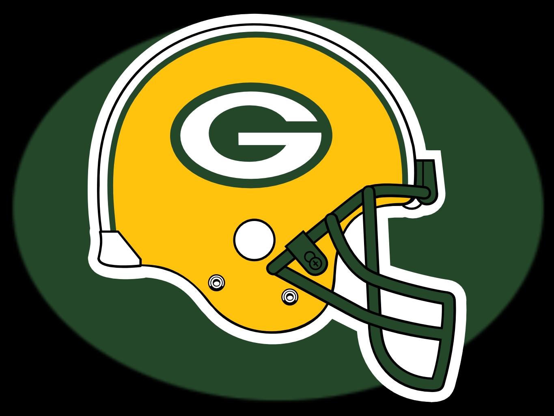 Green Bay Packers Helmet Logo Drawing Free Image