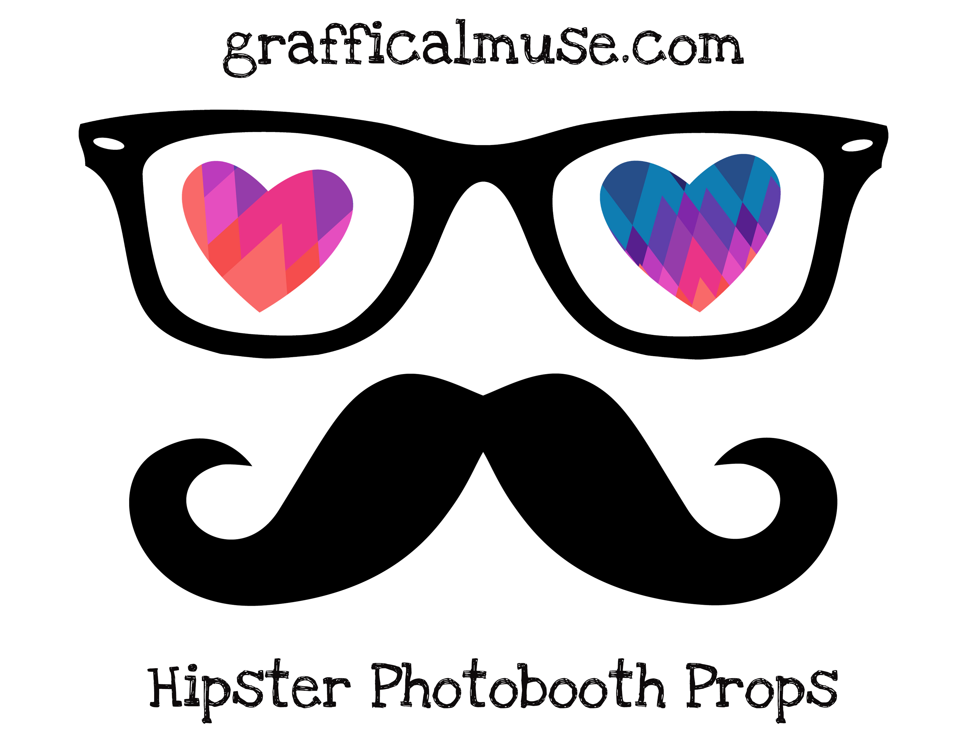 picture regarding Free Printable Photo Booth Props Template known as Valentines Image Booth Props Totally free Printables no cost impression