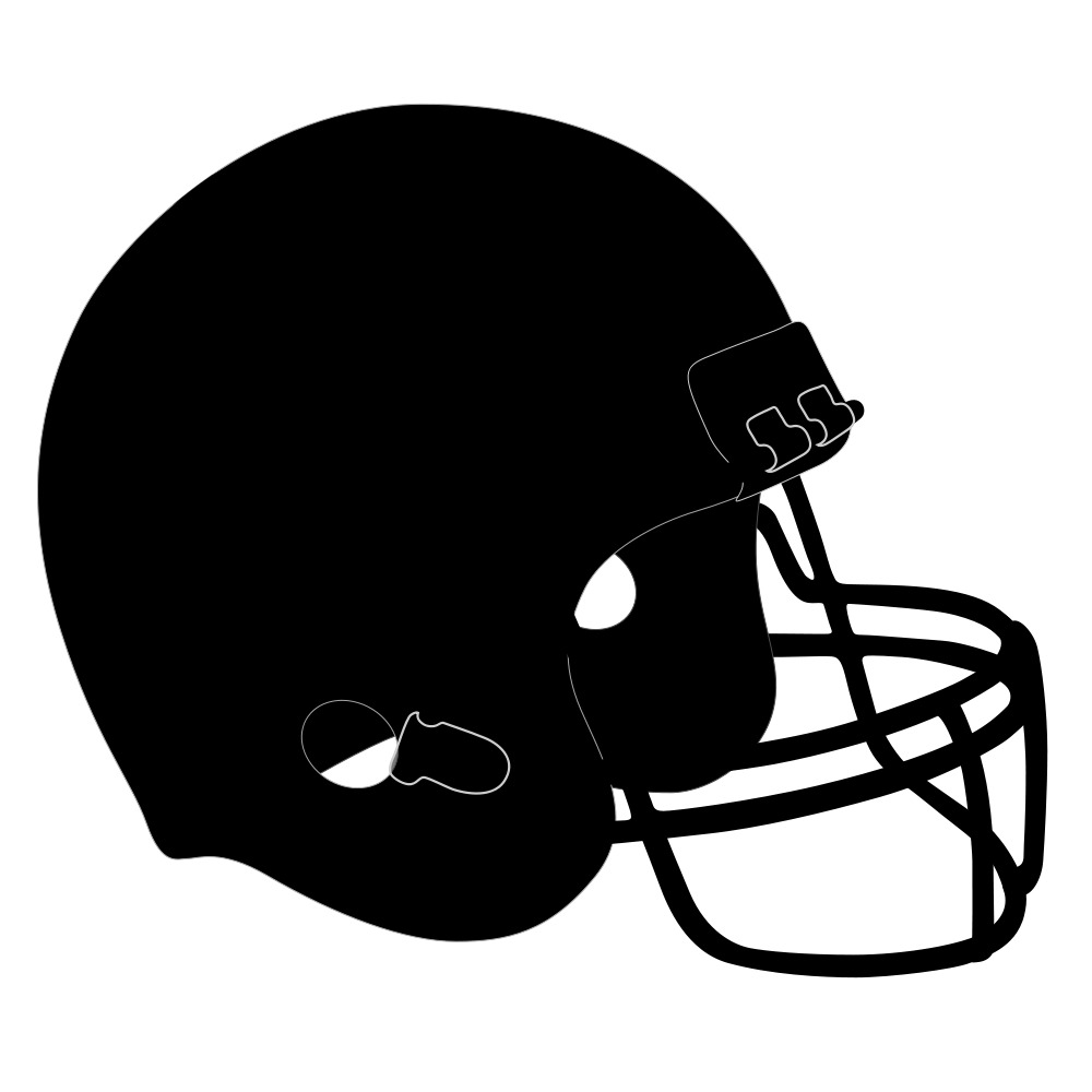 graphic about Printable Football Helmet identify Soccer Helmet Stencil Printable free of charge picture