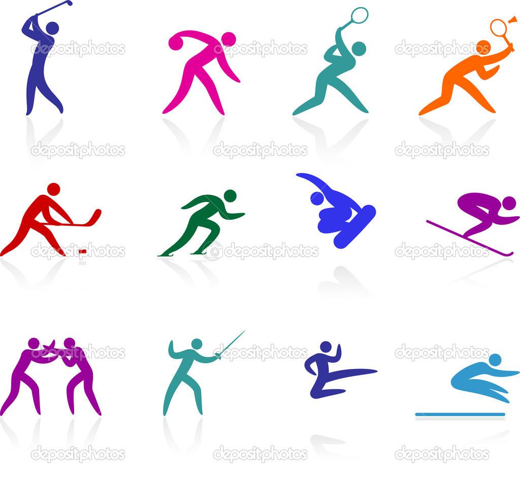 Olympic Sports Symbols Clip Art N8 Free Image