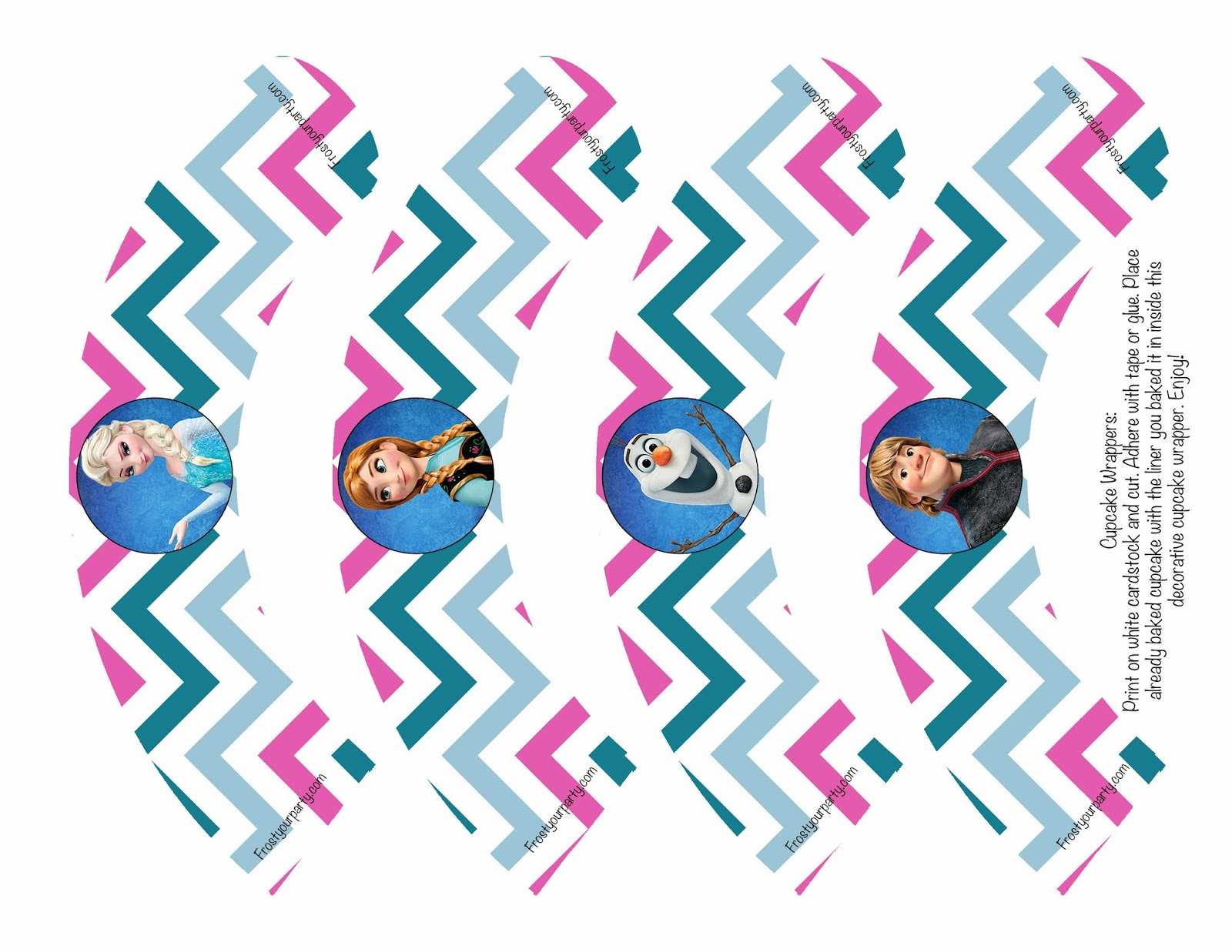 image relating to Free Frozen Printable titled Frozen Cupcake Toppers Printable Free of charge absolutely free graphic