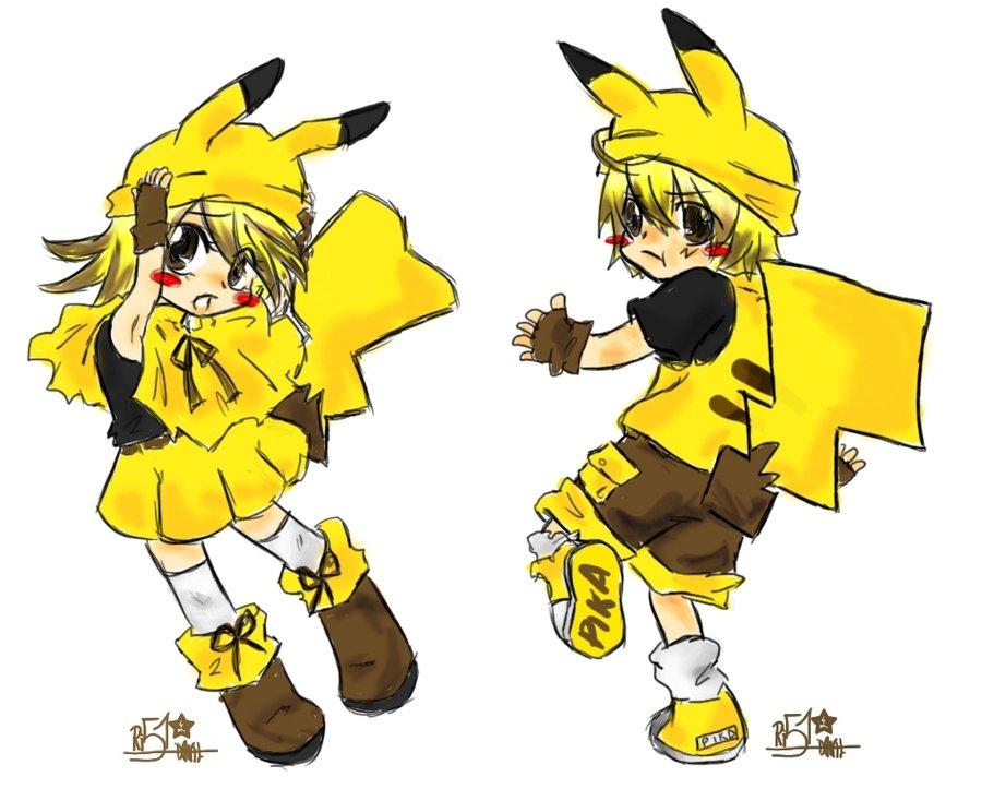 Chibi Pikachu Drawing Free Image