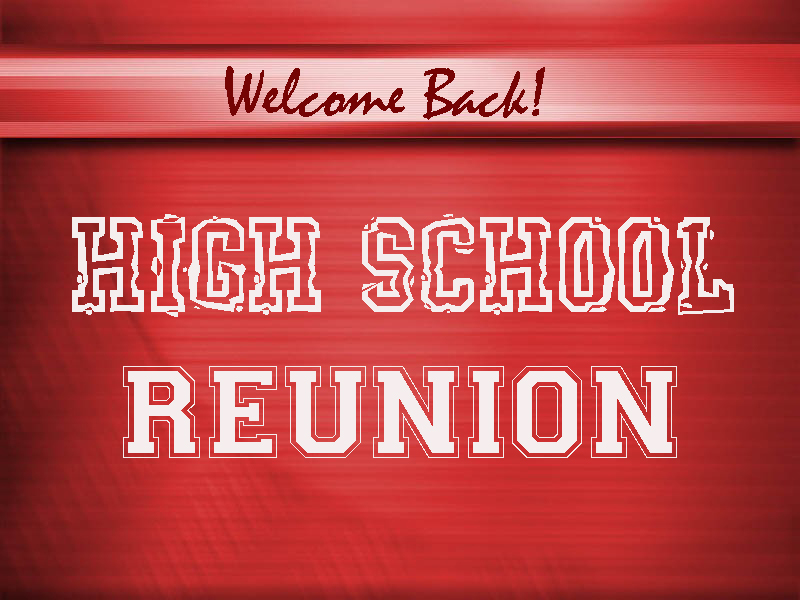 Ideas for high school reunions