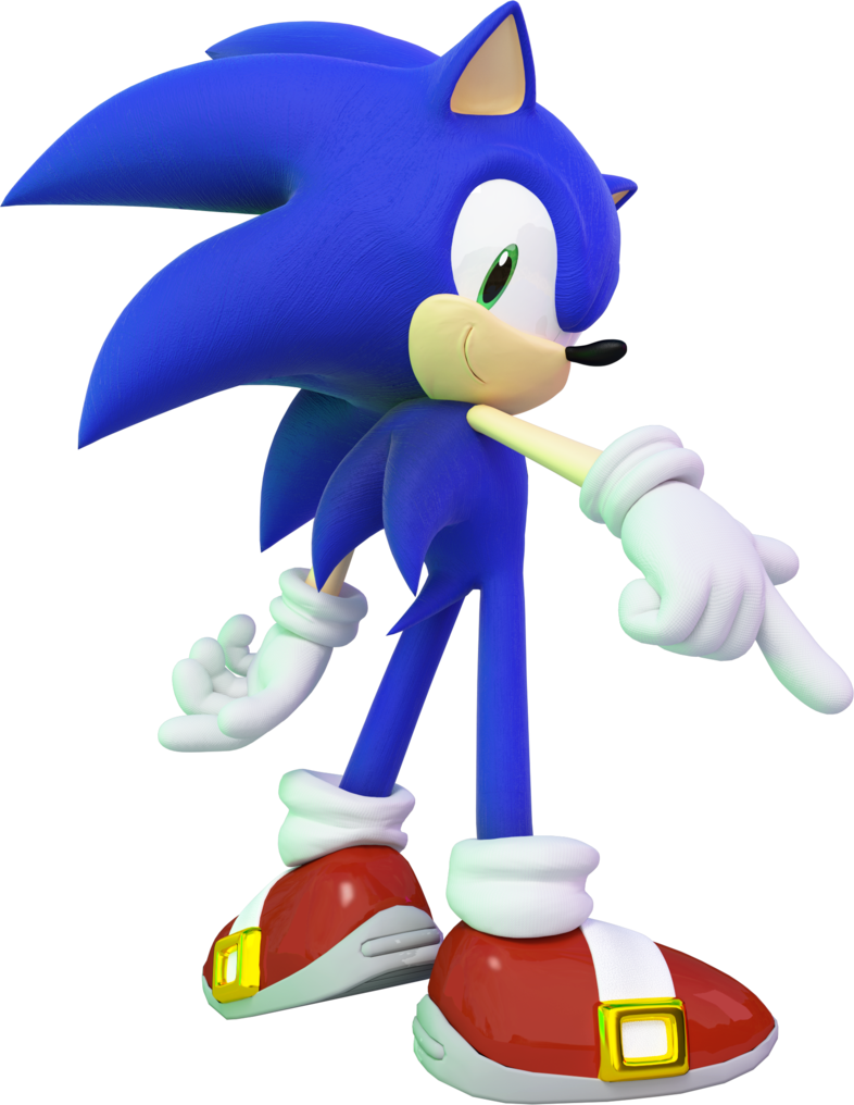 Clipart Of Sonic The Hedgehog Character Free Image