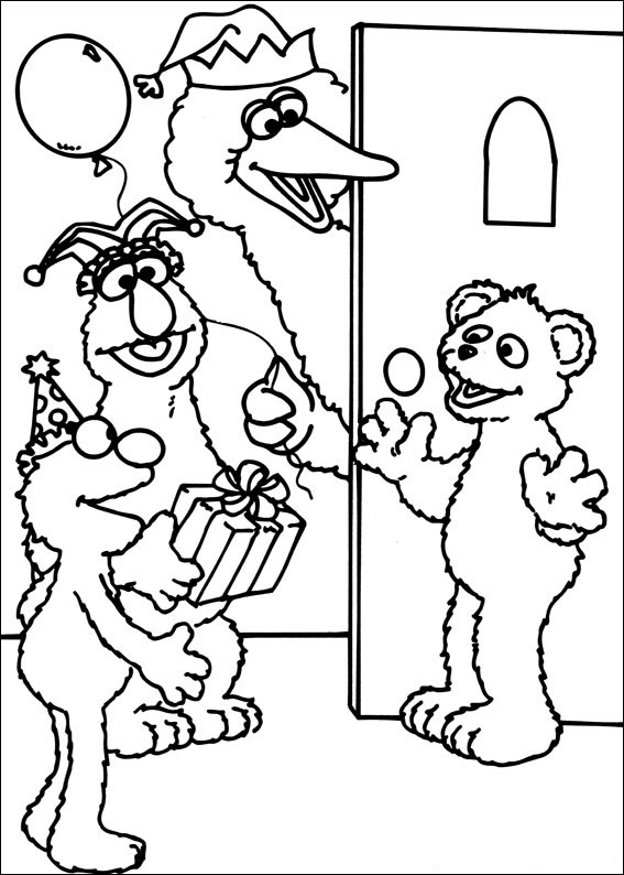 - Sesame Street Coloring Pages Printable Free Free Image