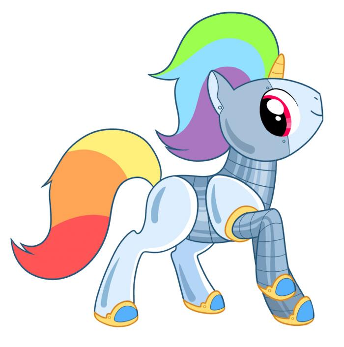 Robot My Little Pony Base Free Image