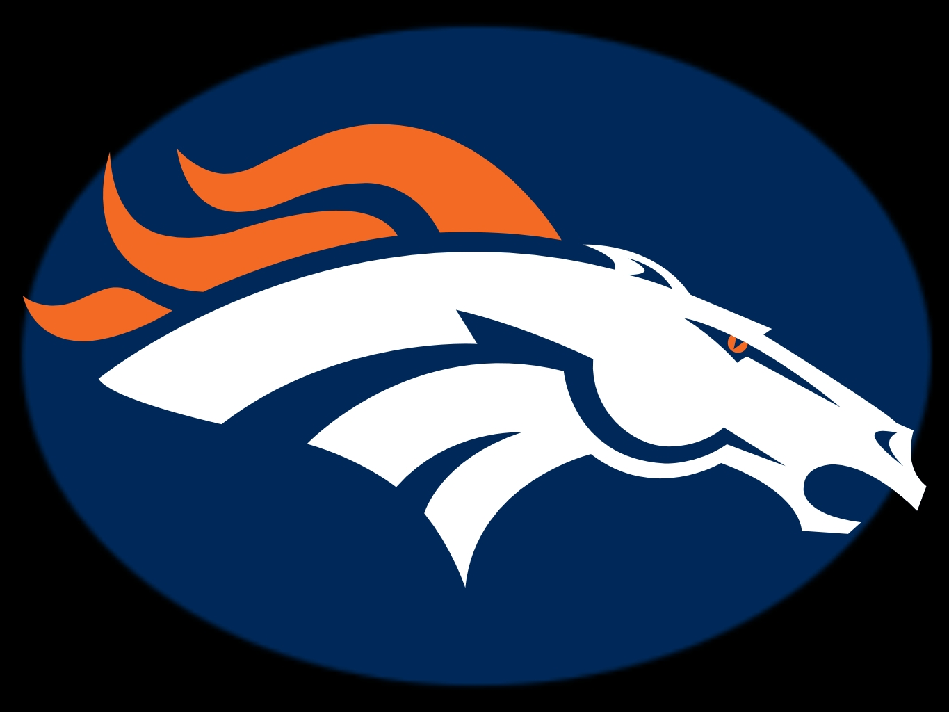 Printable Denver Broncos Logo N2 Free Download