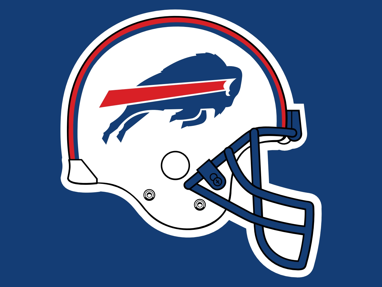 Buffalo Bills Helmet Logo Drawing Free Image