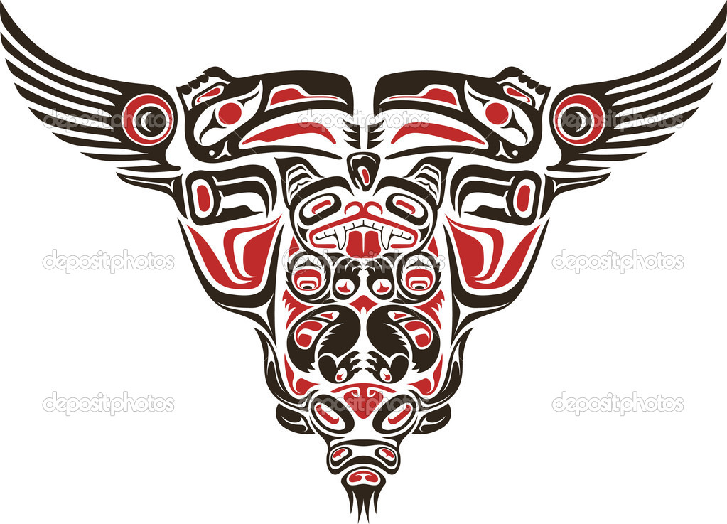 Haida Tattoo Designs Free Image
