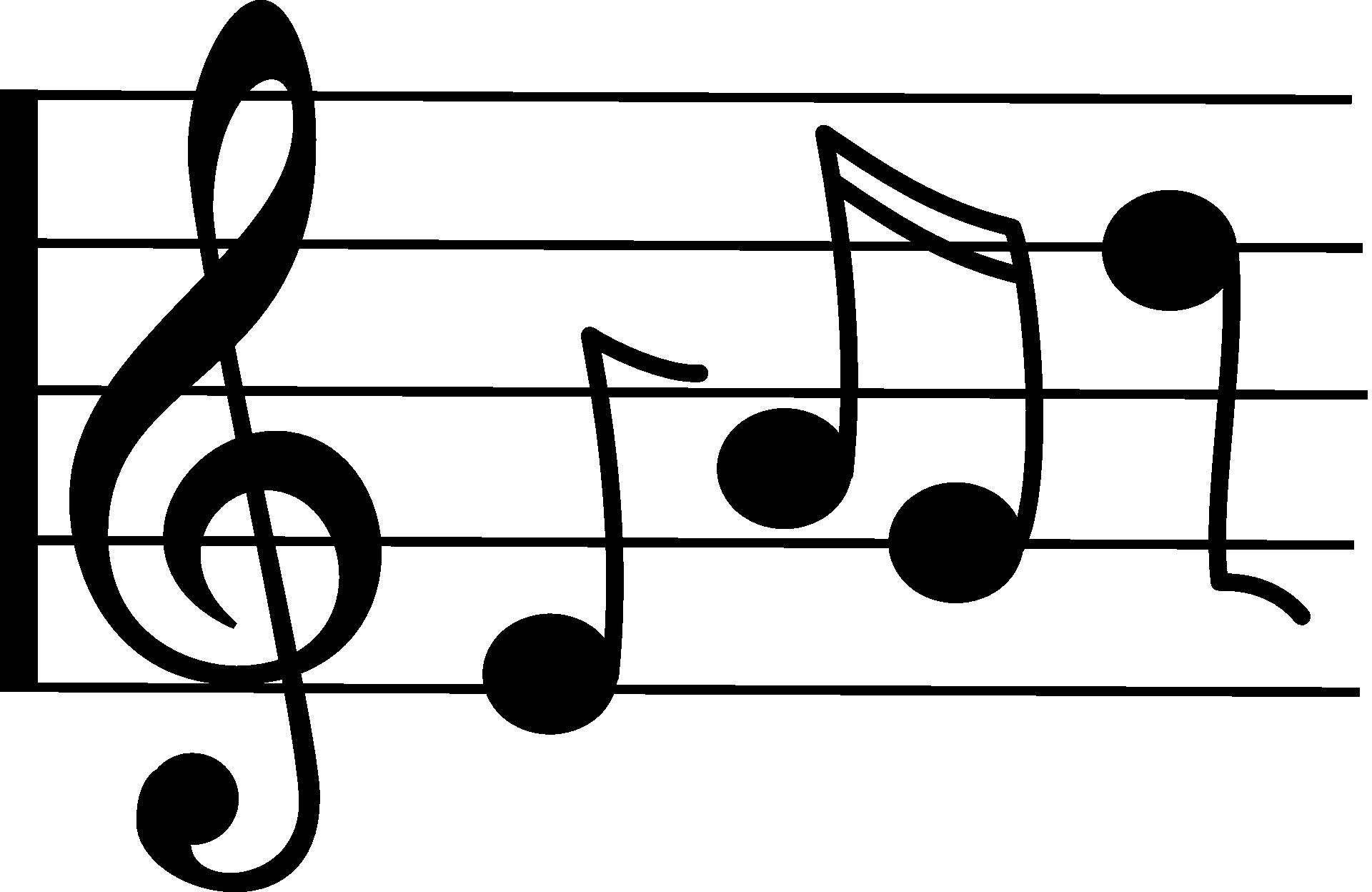 Music Notes Symbols Drawing Free Image