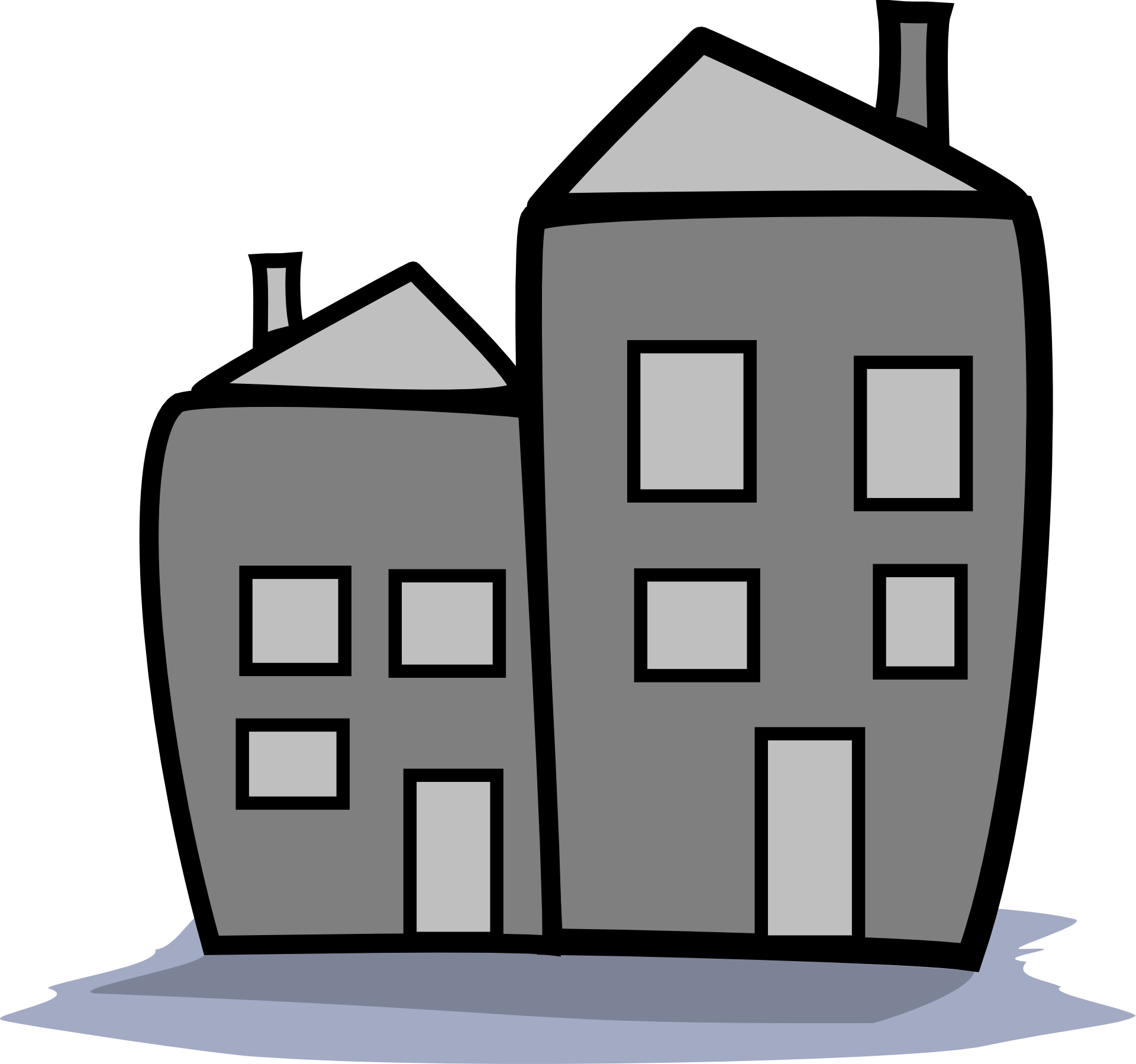 Cute house clipart free images - ClipartBarn