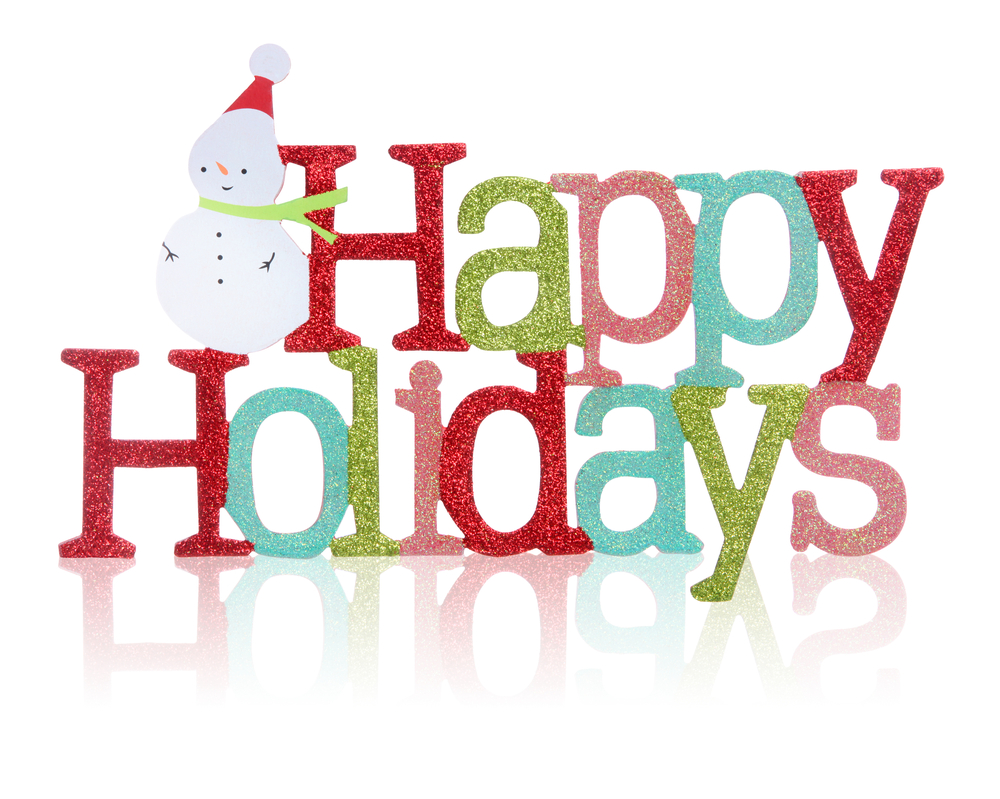 Winter holidays clipart on a white background free image