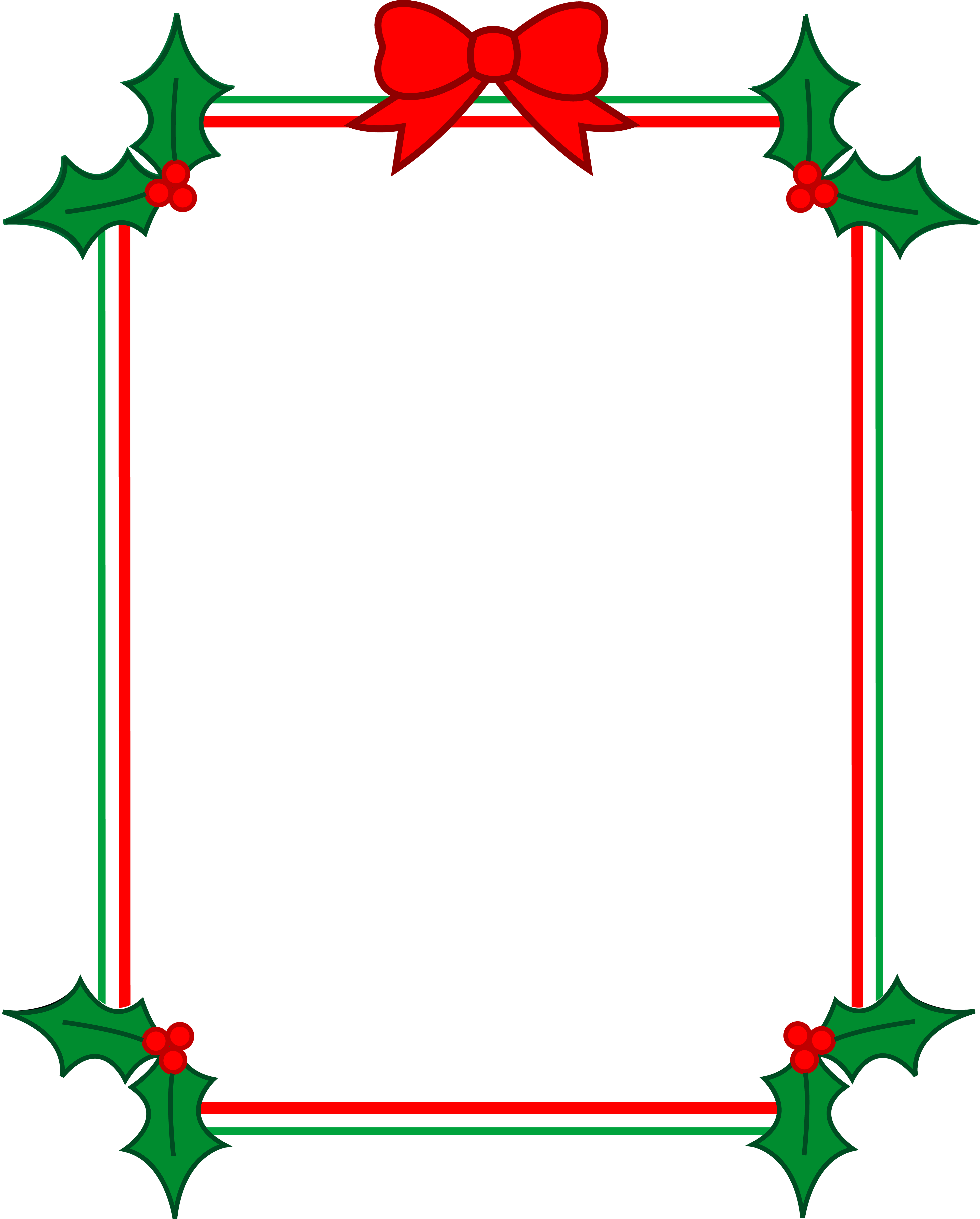 Christmas Holiday Clipart.Free Christmas Holiday Borders Clipart Free Image