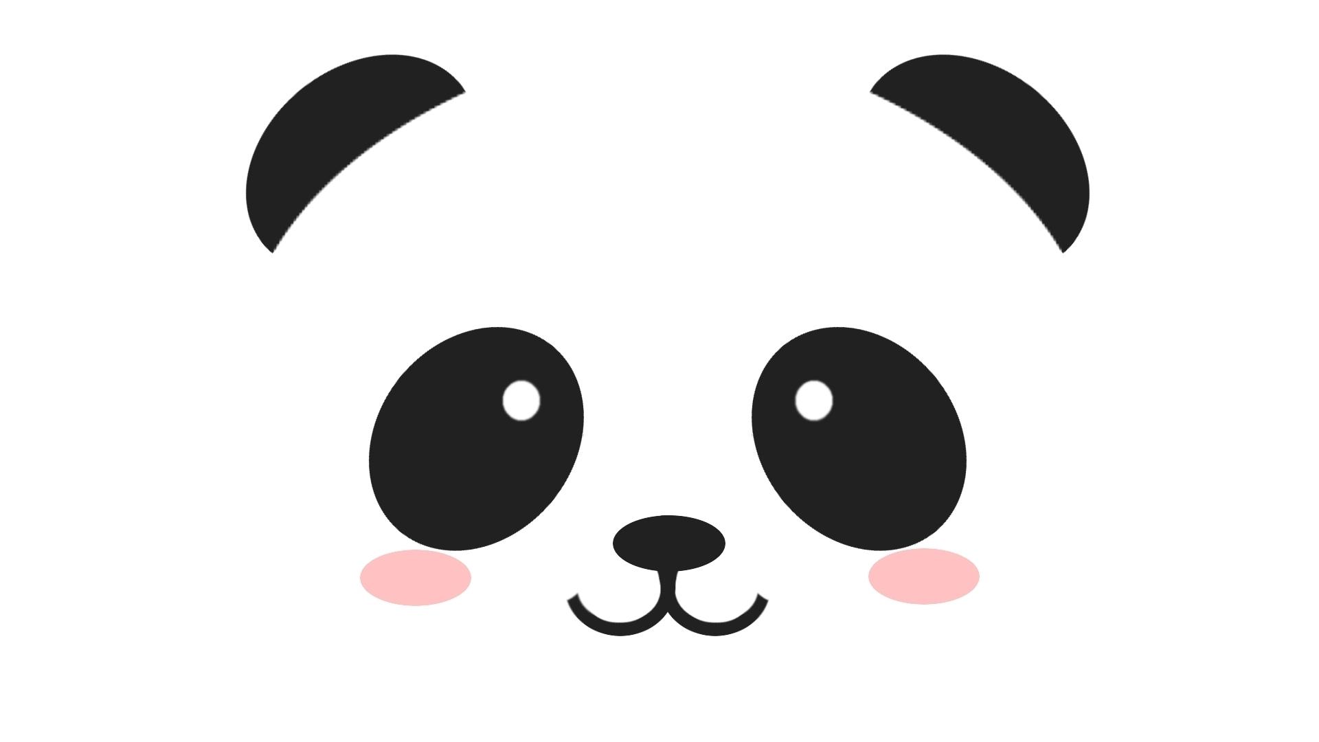 source http wwwcakechoosercom 600 panda bear face template clipart