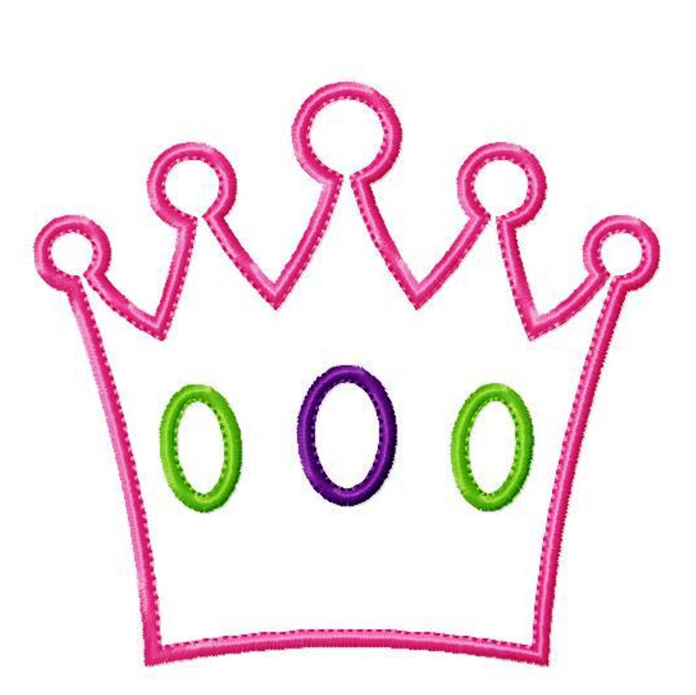Pink Queen Crown Drawing Free Image