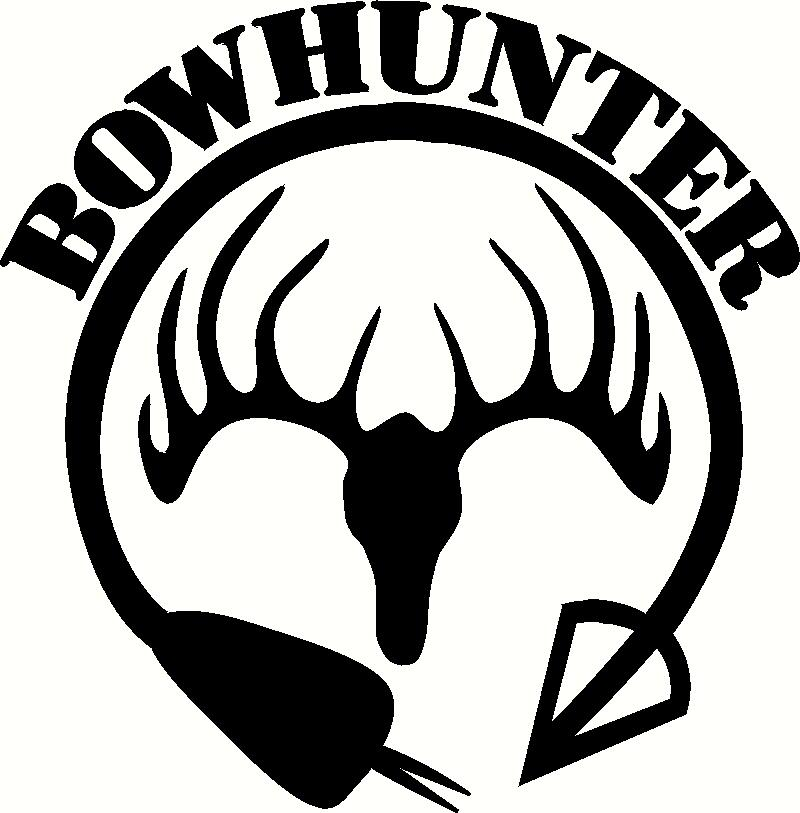 Bow Hunter Vinyl Decal Hunting Decals free image