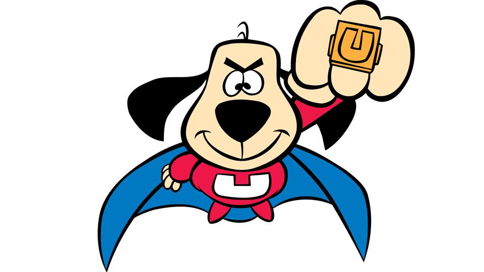 Superhero Cartoon Super Dog Drawing Free Image