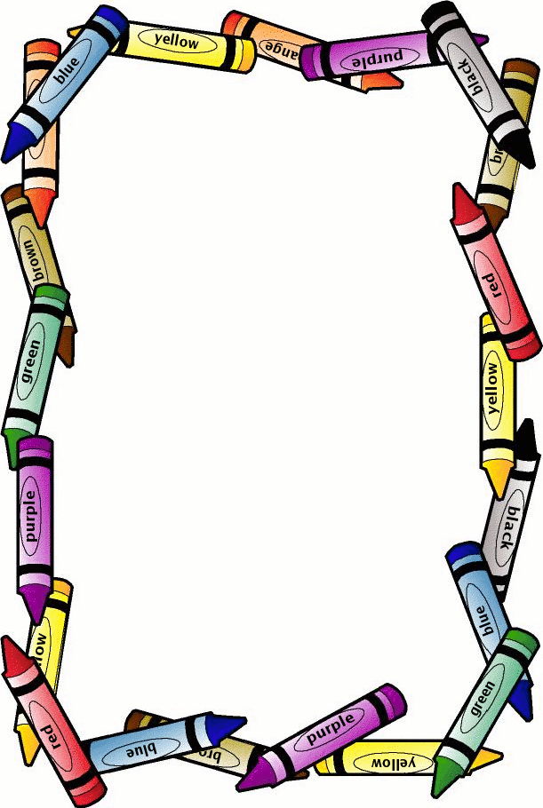photo about Printable Crayons identified as Totally free Printable Crayon Border Site Borders Spyfind clipart