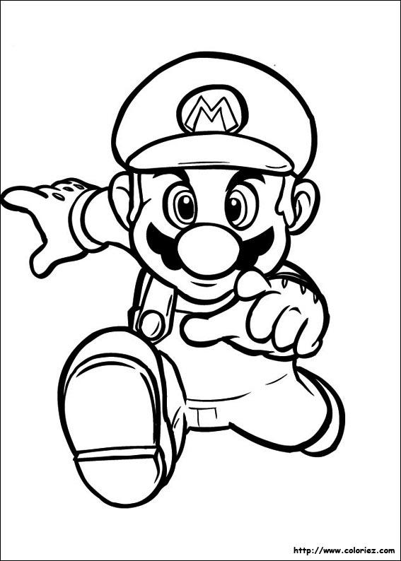 Le Coloriage Mario De La Cat 233gorie Super Bros Est Sur Ton Site