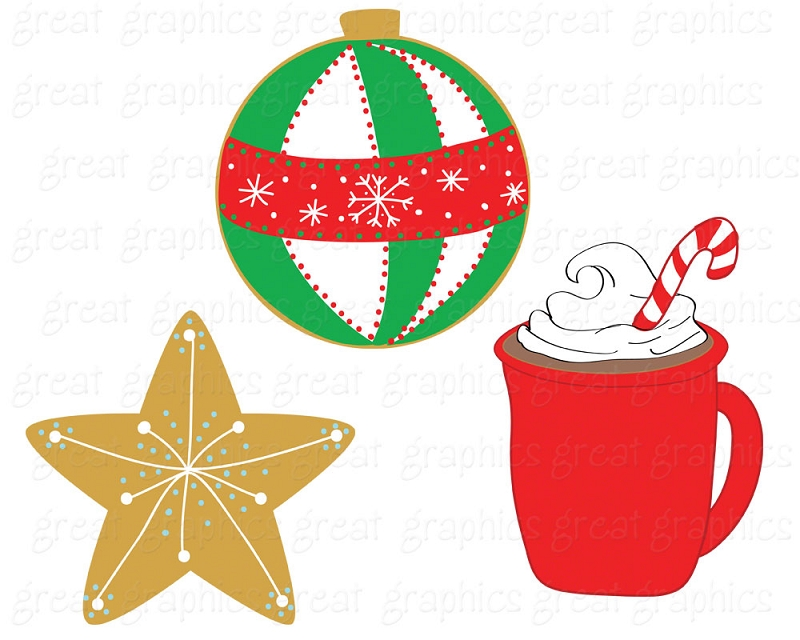 Christmas Cookie Clipart.Printable Christmas Cookie Clipart Free Image