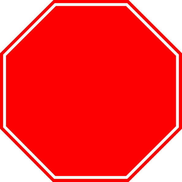 Blank Stop Sign Drawing Free Image