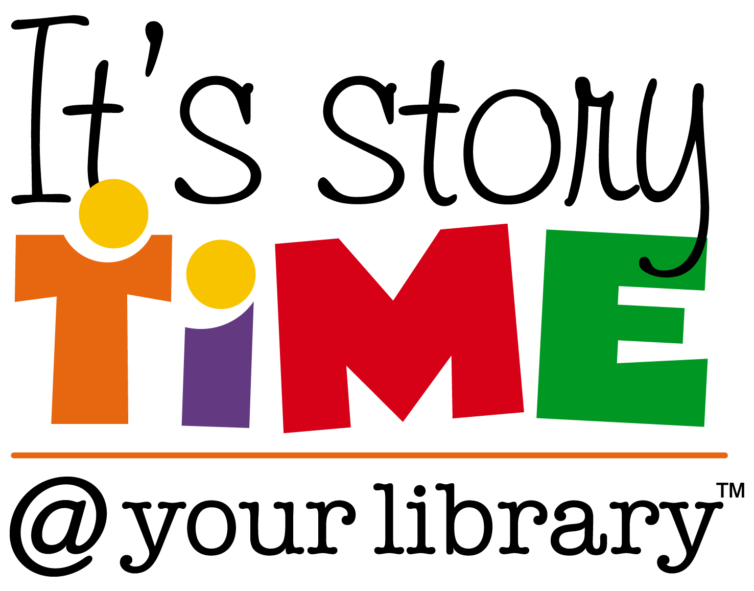 Clipart of the storytime at your library free image