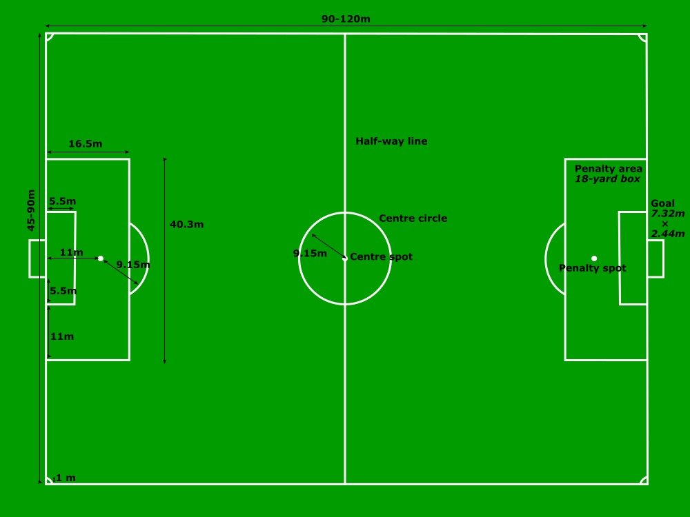 photograph about Printable Soccer Field Diagram named Blank Football Industry Diagram Sco absolutely free graphic