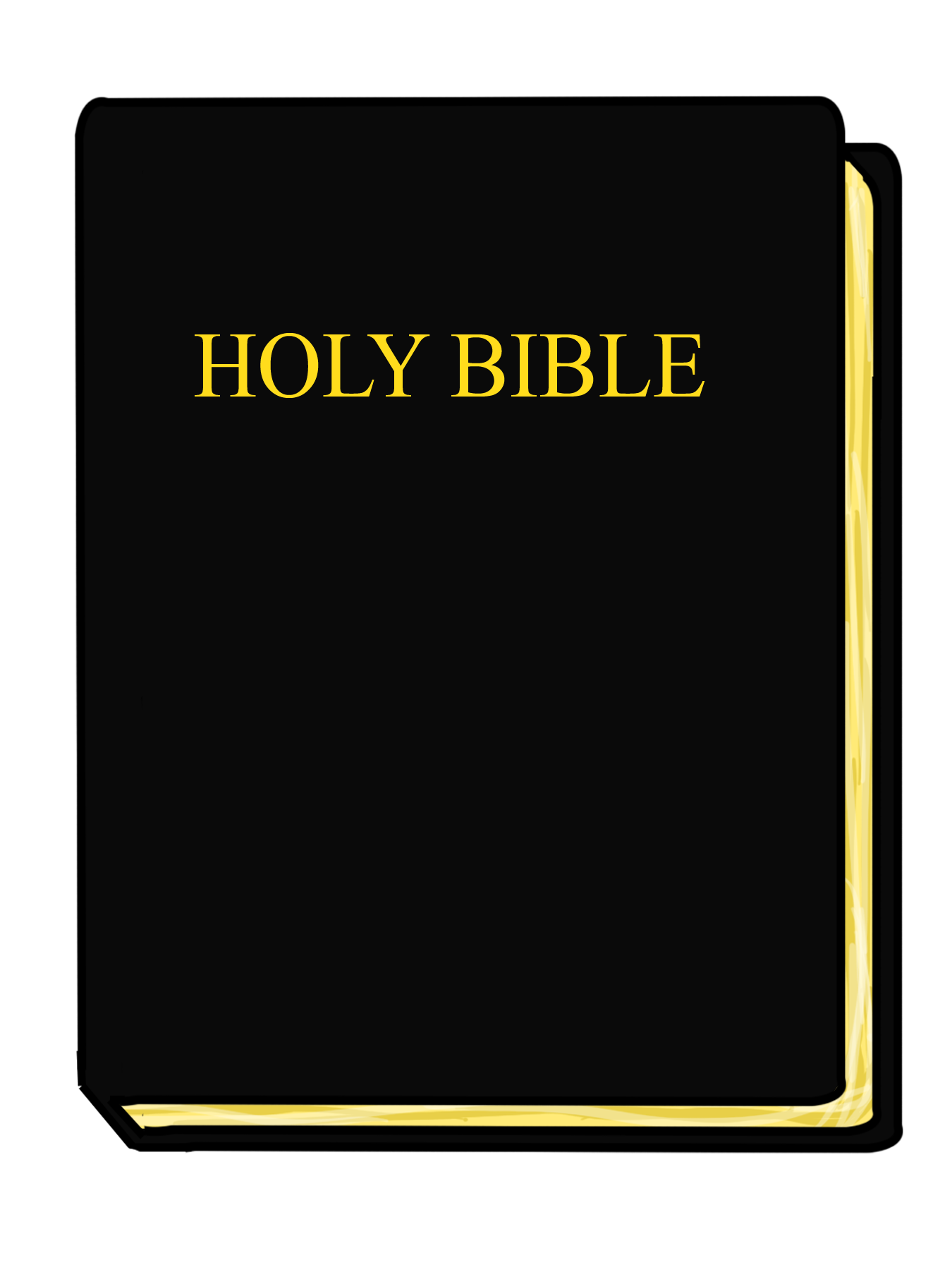 Bible closed. Clipart free image download