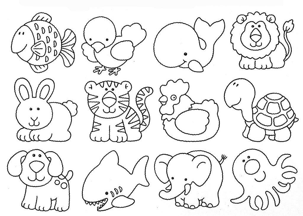 Boyama Sayfalari Hayvanlar Indir Coloring Free To Print
