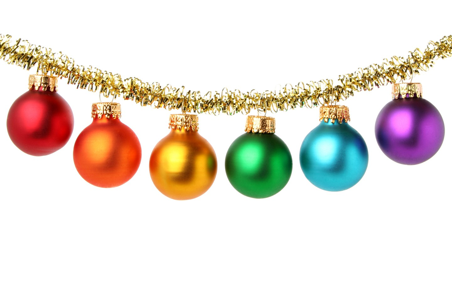 Colorful Christmas Balls.Colorful Christmas Balls Baubles Ornaments 1440 N2 Free Image