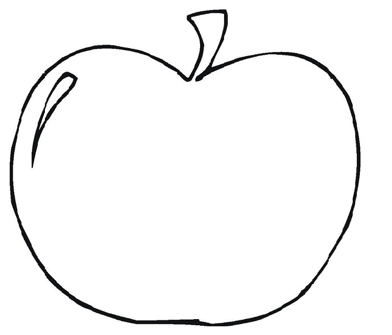 photograph regarding Printable Apple Template titled 10 Printable Apple Template Frees That Your self Can Obtain Toward