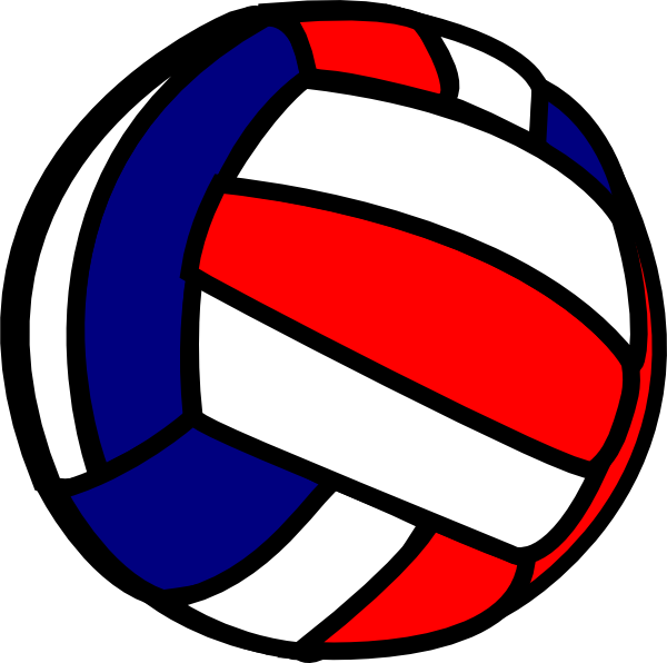 Volleyball vector. Panda free images clipart