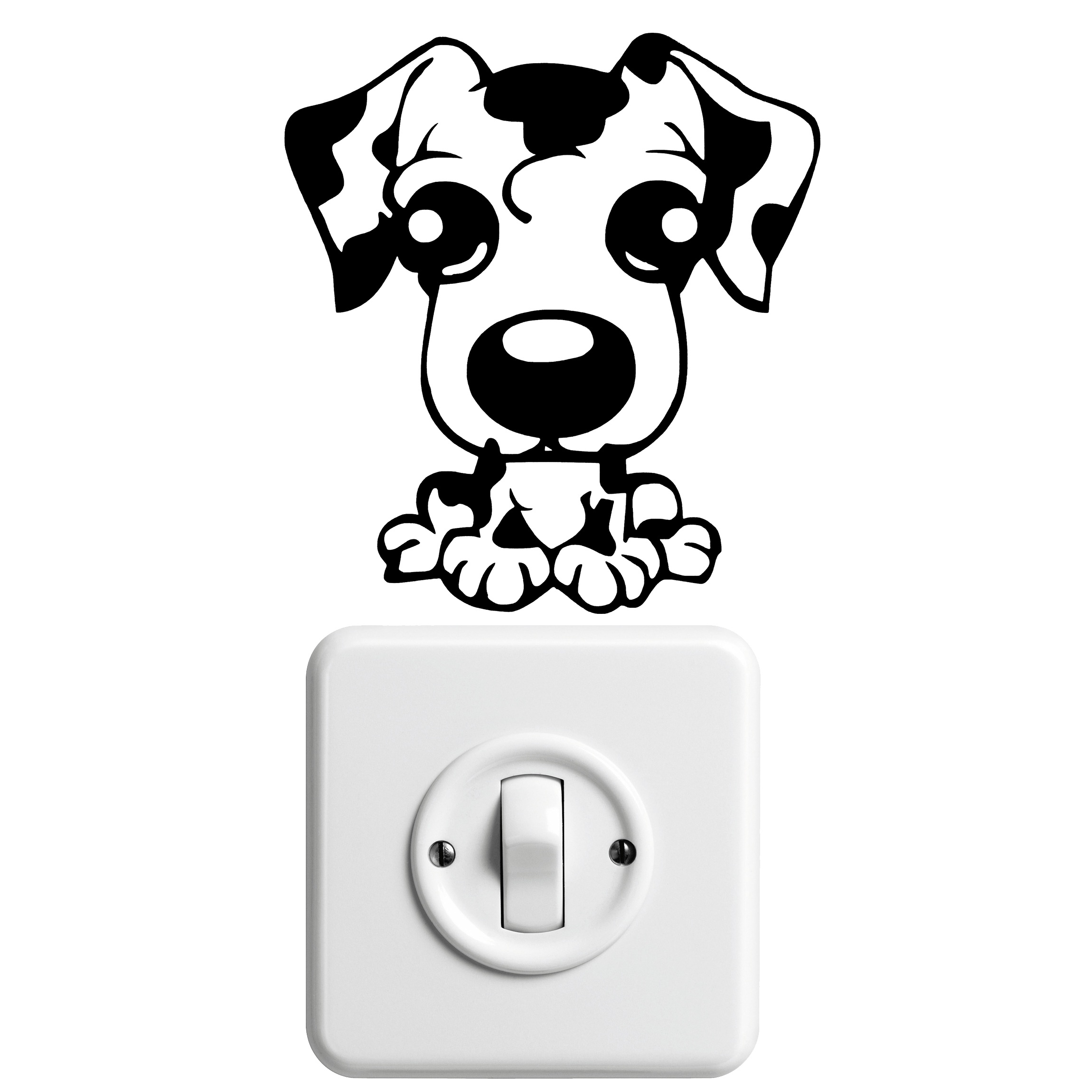 Dalmatians Puppy As A Drawing Free Image