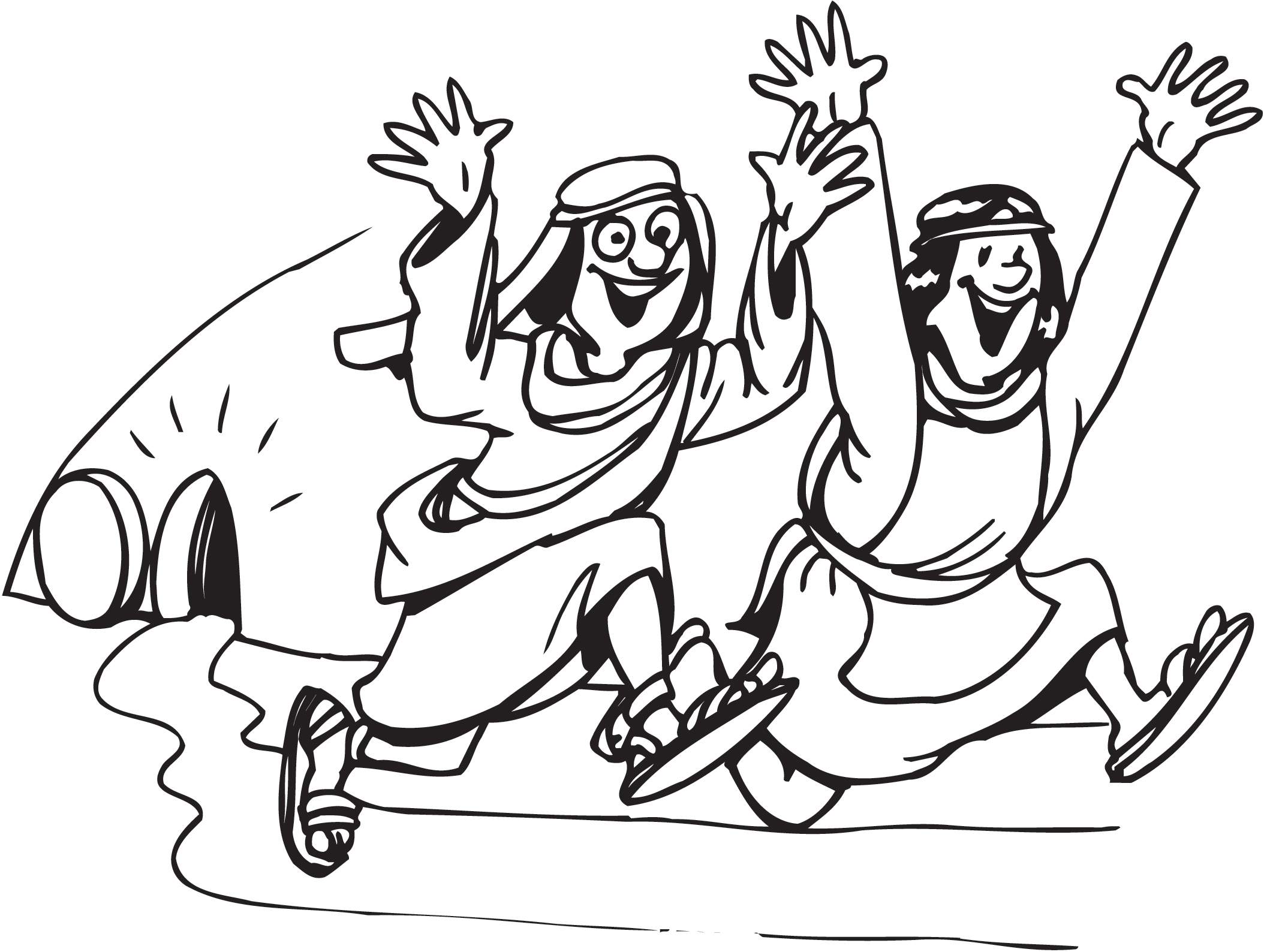 Jesus Easter Coloring Pages Free Image