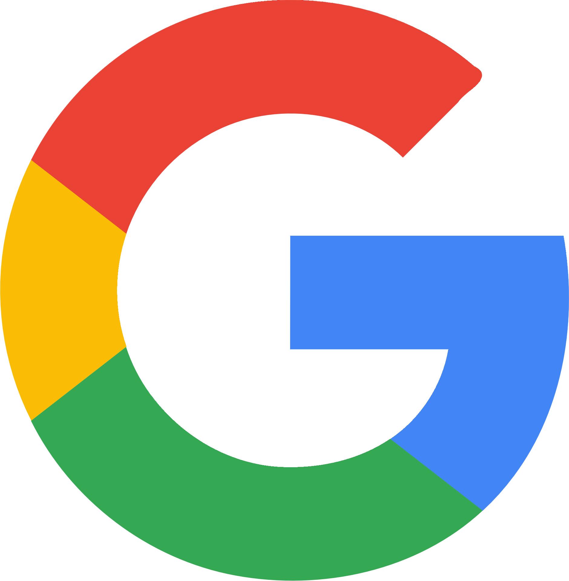 Colorful Google logo free image