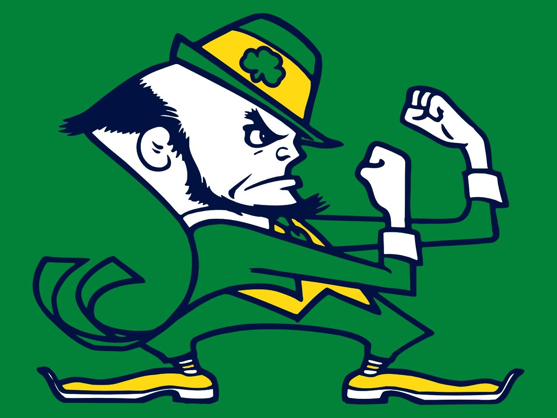 Notre Dame Fighting Irish Leprechaun Free Image